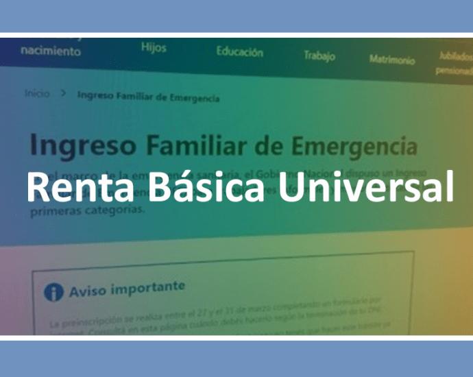 Renta Basica Universal
