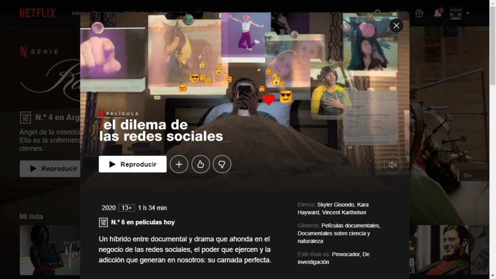 Argentina bipolar, mundo agrietado, Netflix, El dilema de las redes sociales,
